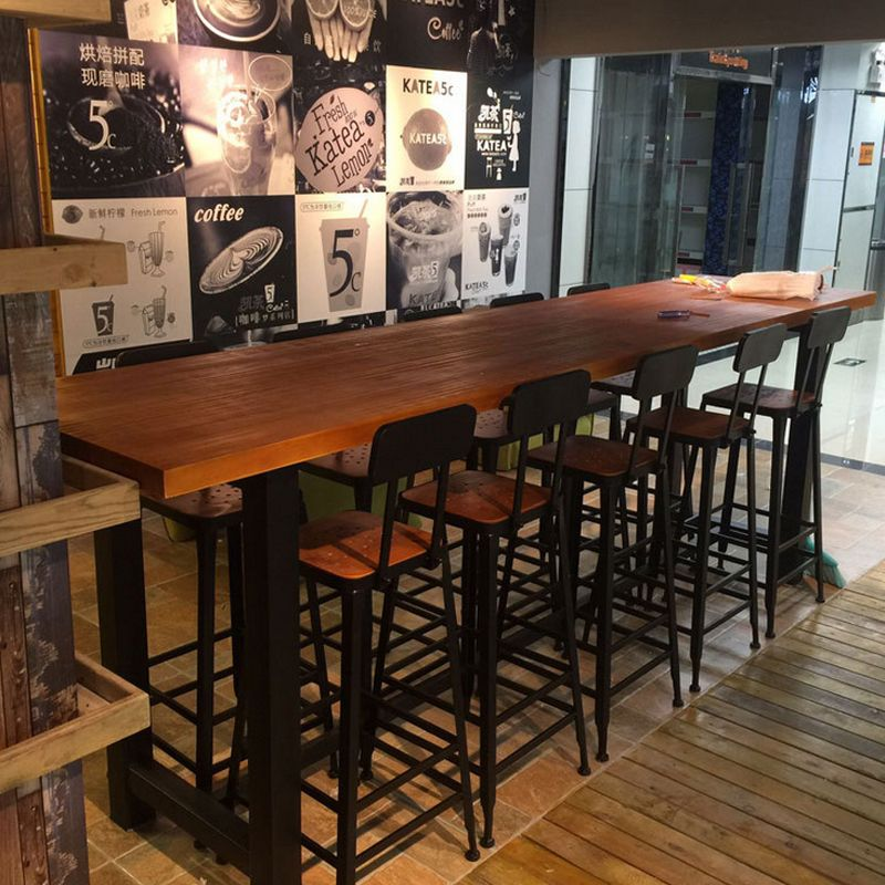 Starbucks Bar Table And Chair Combination American Style Coffee