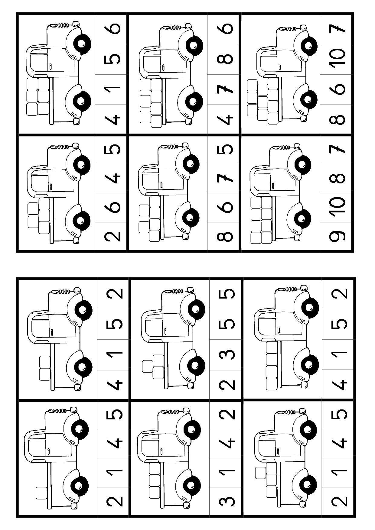Count And Circle Numbers To 5