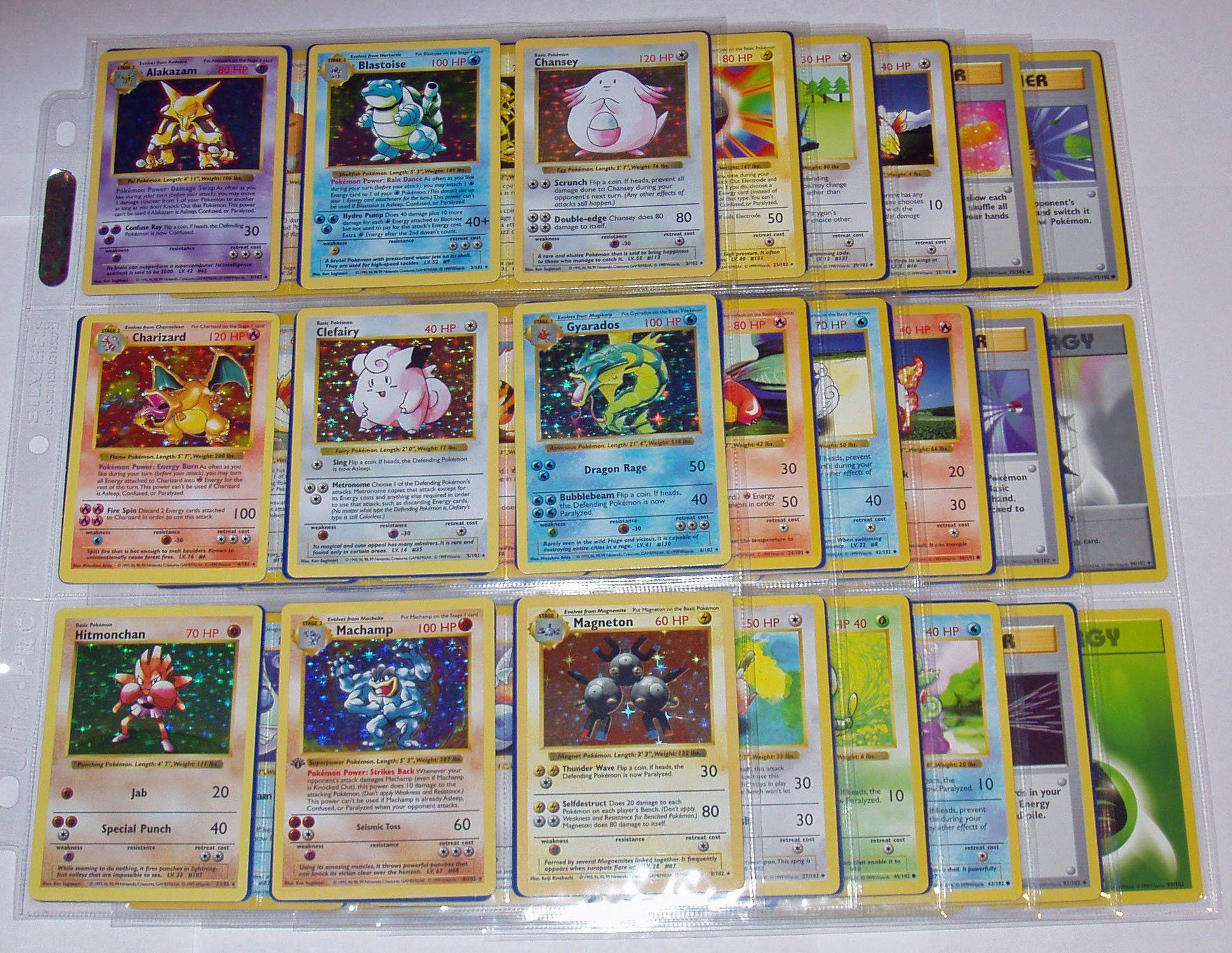 Amazon com pokemon complete shadowless base basic set 102 102 cards holos charizard