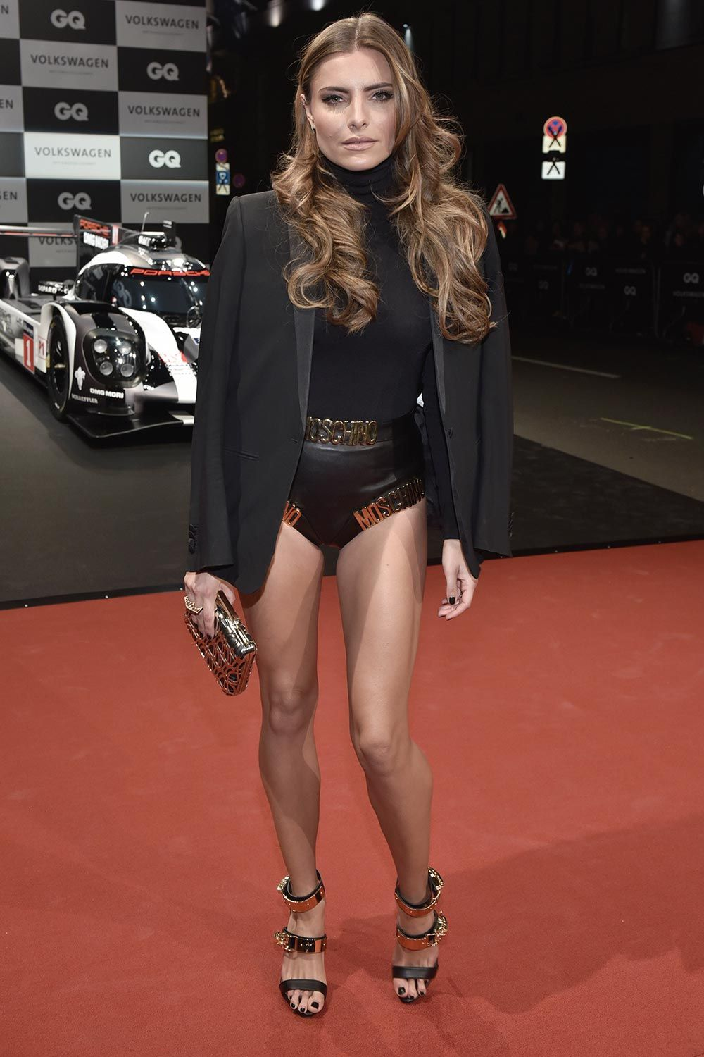 sophia thomalla arrives at the gq men of the year award 2016 moda de mujer que me encanta. Black Bedroom Furniture Sets. Home Design Ideas
