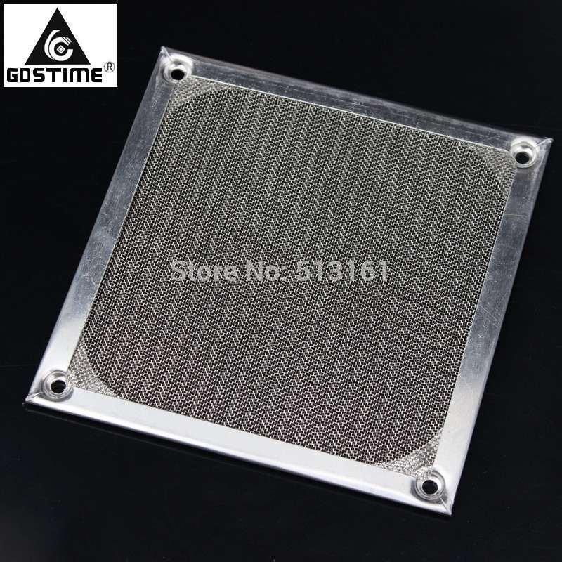 5 Pcs Gdstime 12cm PC Fan Dust Filter Aluminum Dustproof