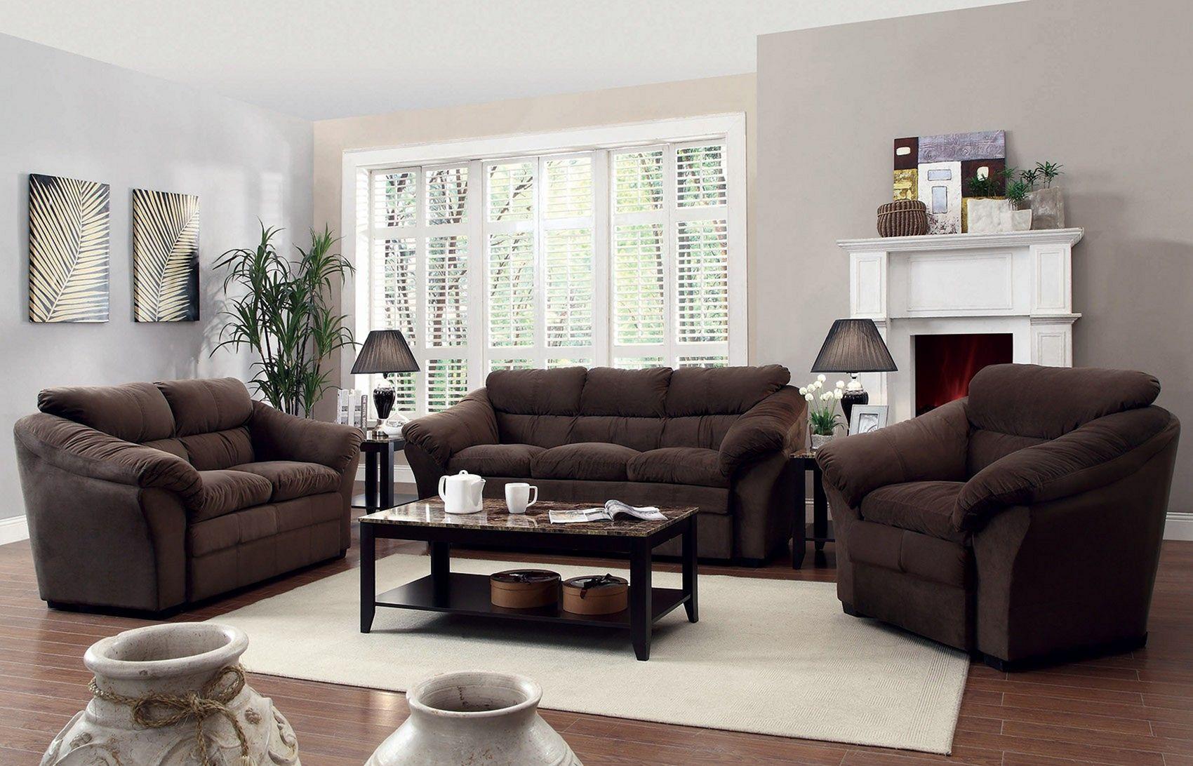 10+ Beautiful And Comfortable Living Room Furniture Set ...