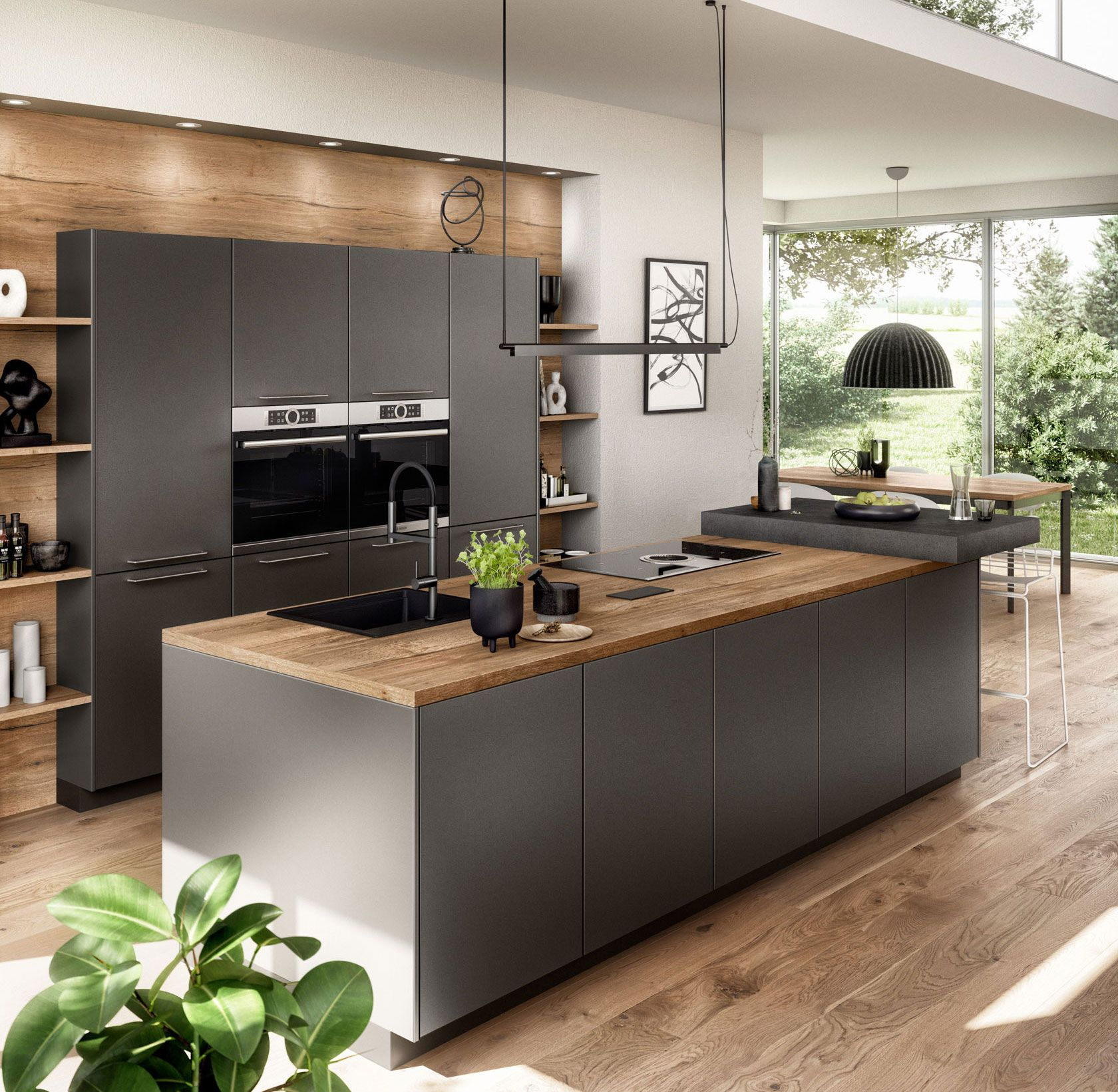 Nobilia ARTIS 9   Modern kitchen design, Kitchen furniture ...