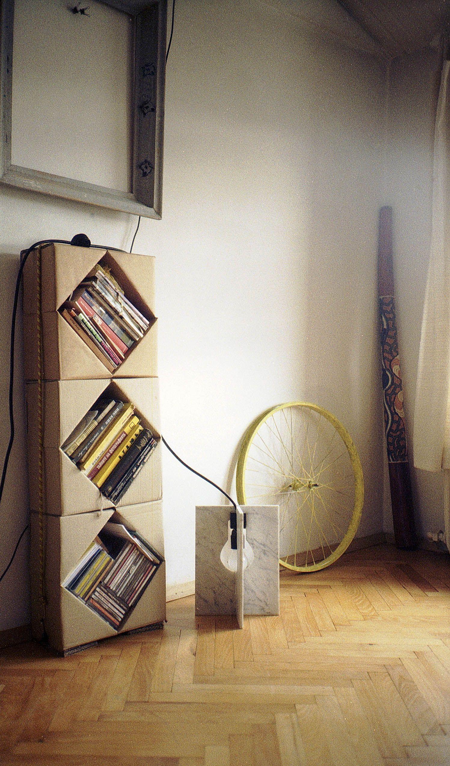 Cardboard Shelf Rrrubcom My Works Cardboard Furniture - Cardboard-bookshelves