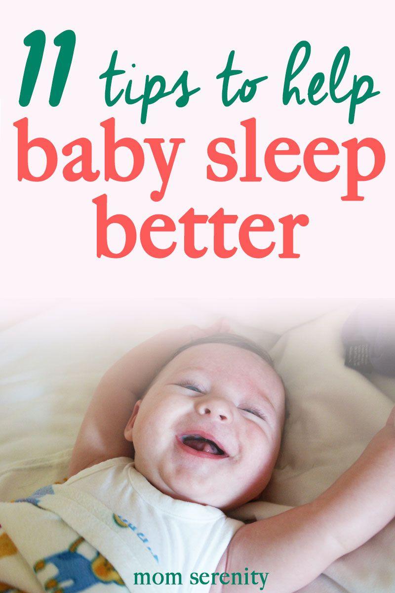 Baby Sleep Better Tips And Tricks For Newborn Sleep Training Babytips Sleeptraining Newmom