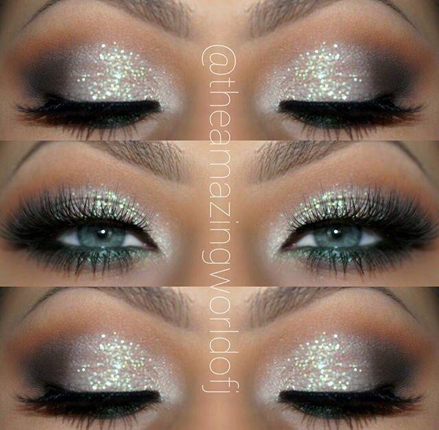Pretty Eye Makeup Blue Dress, Makeup Looks Blue Eyes, Wedding Makeup For Blue Eyes