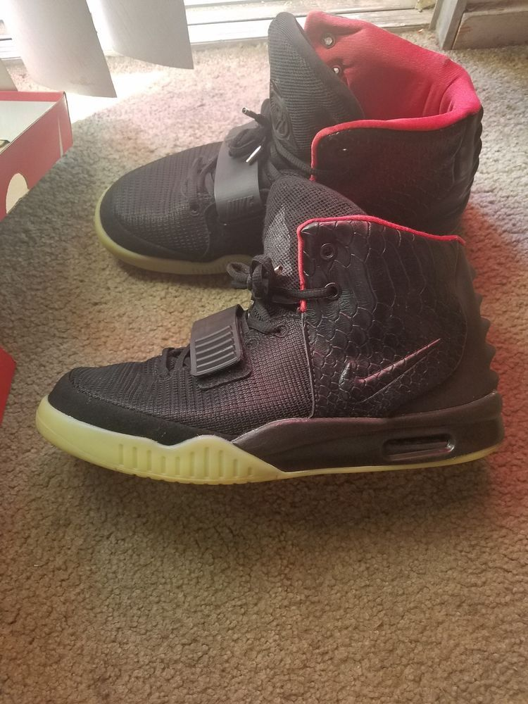 db8135686368d Nike air yeezy 2 solar red sz 9.5 no box bag (why price starting low)   fashion  clothing  shoes  accessories  mensshoes  athleticshoes (ebay link)