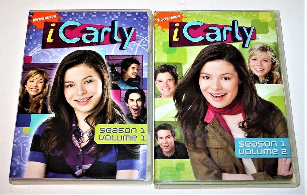 iCarly Season 1 Volume 1 & Volume 2 DVD | Stuff to Buy