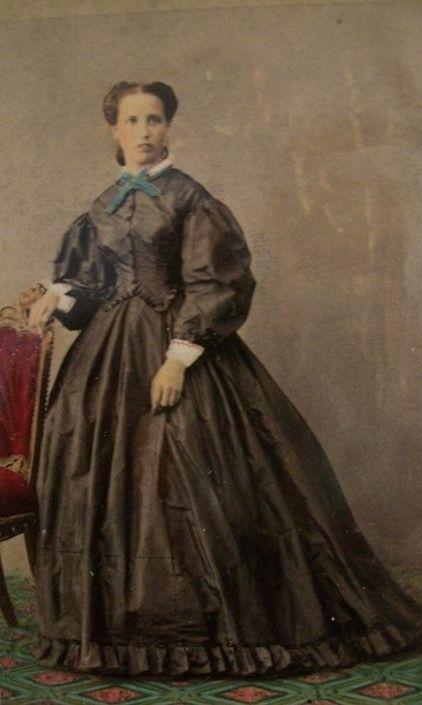 Full-length portrait of Cecilia Bourbon di Sorbello   Fratelli Alinari   c. 1860   Fondazione Ranieri di Sorbello   CC BY