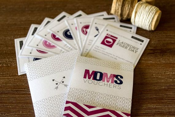 Free Birthday Vouchers ~ Mom's coupons vouchers book kit ~ unique mother's day or birthday