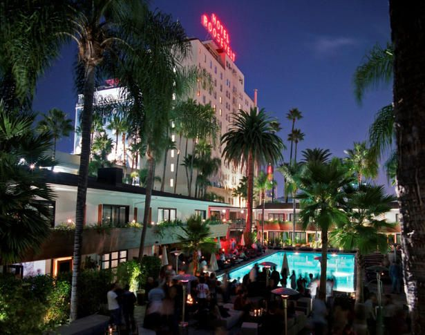 California Travel: Hollywood's Roosevelt Hotel a glitzy magnet for celebrities