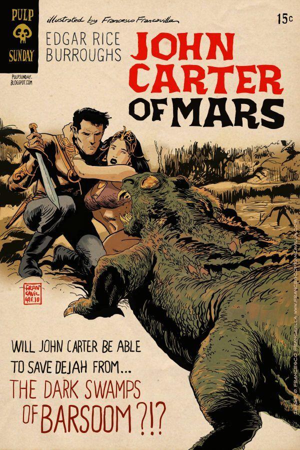 John Carter Of Mars Pulp Heroes John Carter Of Mars Art