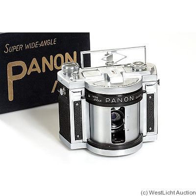 Panon Camera Co: Panox Panorama camera  Hey! I got one of these.