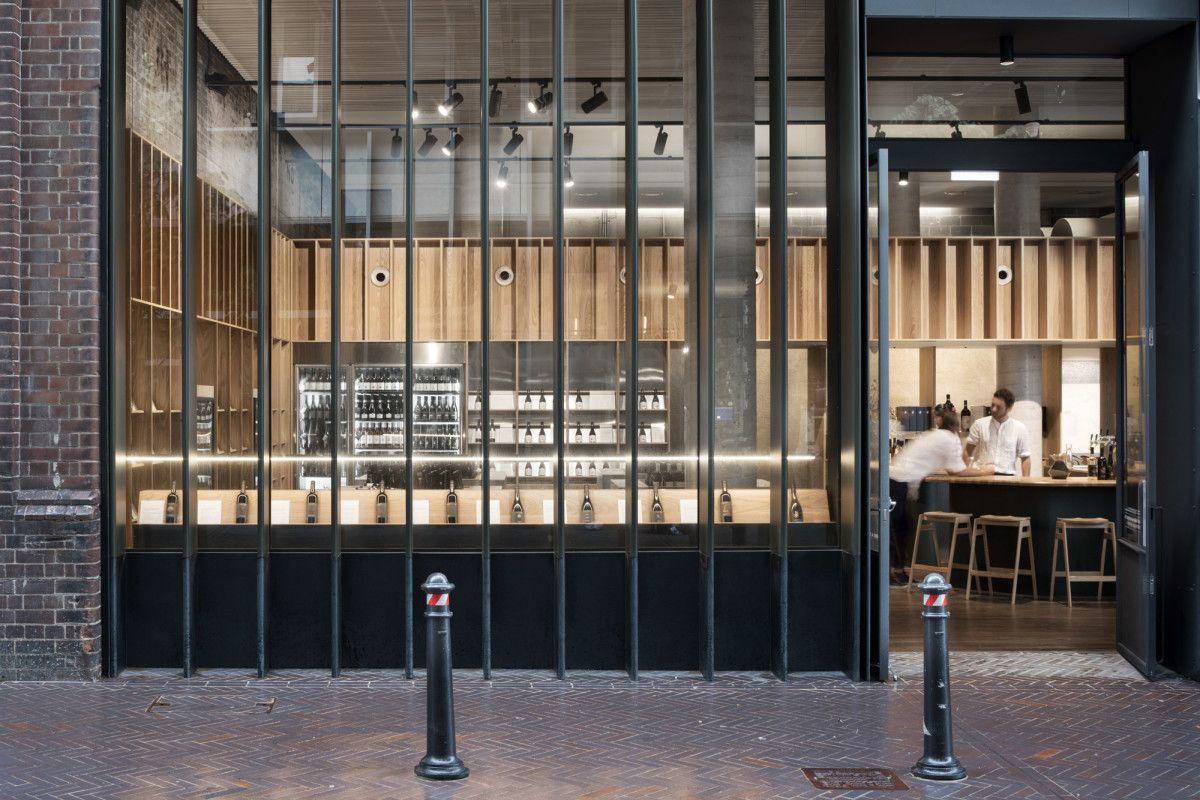 Designoffice handpicked wines cellar door interior architecture