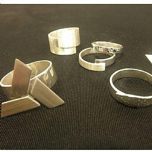 Onwijs Kadobon: Workshop zelf zilveren ring maken | Zilveren ringen, Ring MP-17