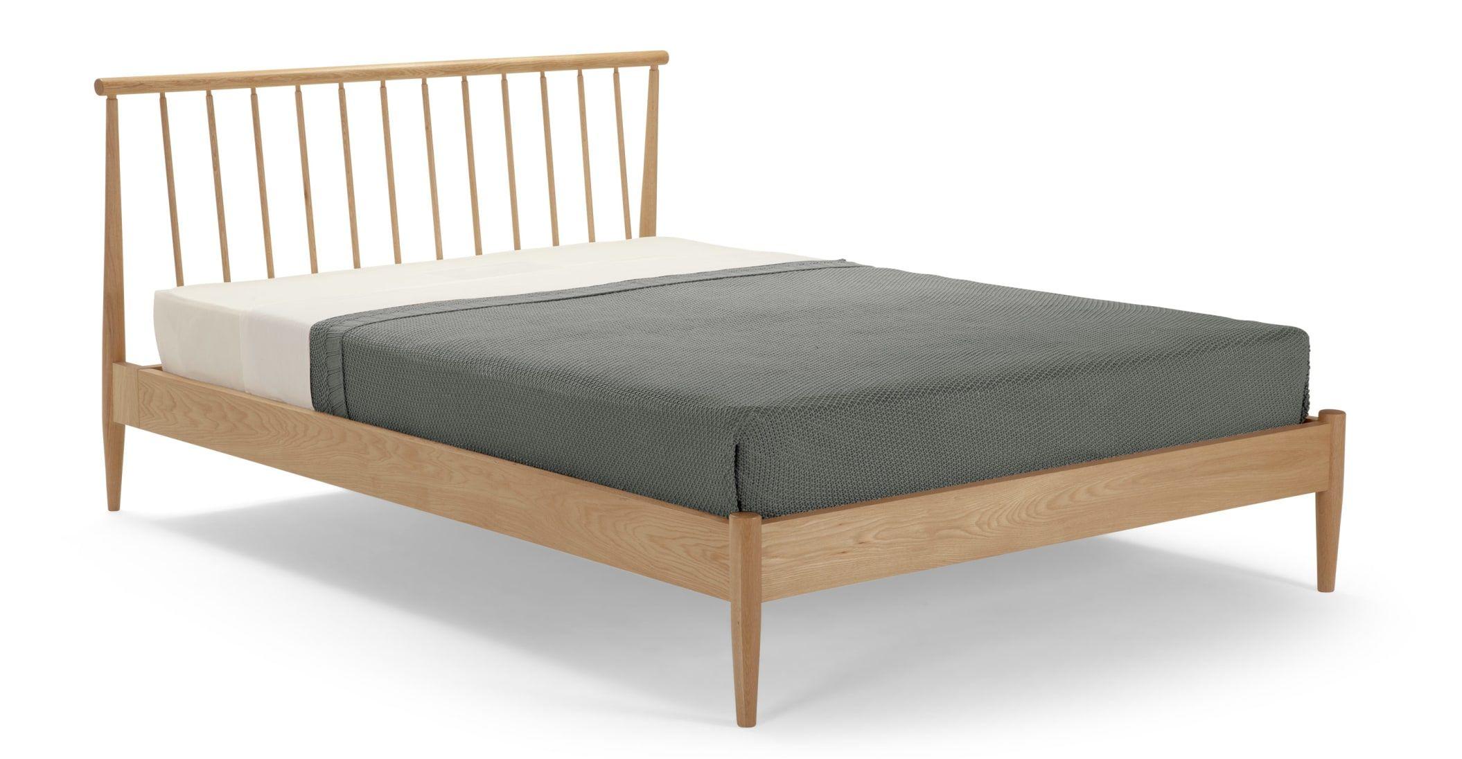 Penn Holzbett 160 X 200 Cm Eiche Made Com In 2020 Bett Eiche Eichenbetten Eichenschlafzimmer