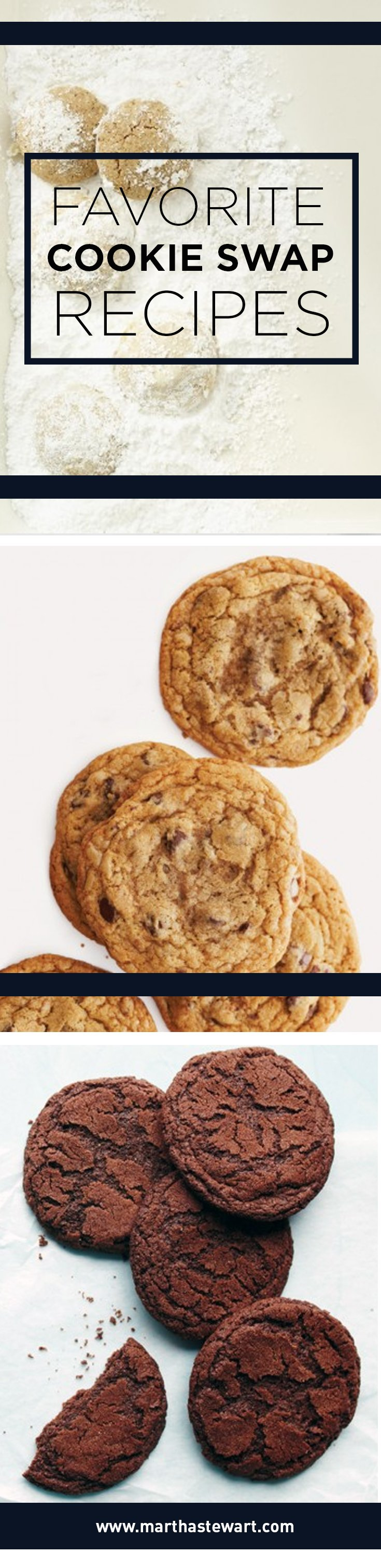 Favorite Cookie Swap Recipes Food recipes, Holiday