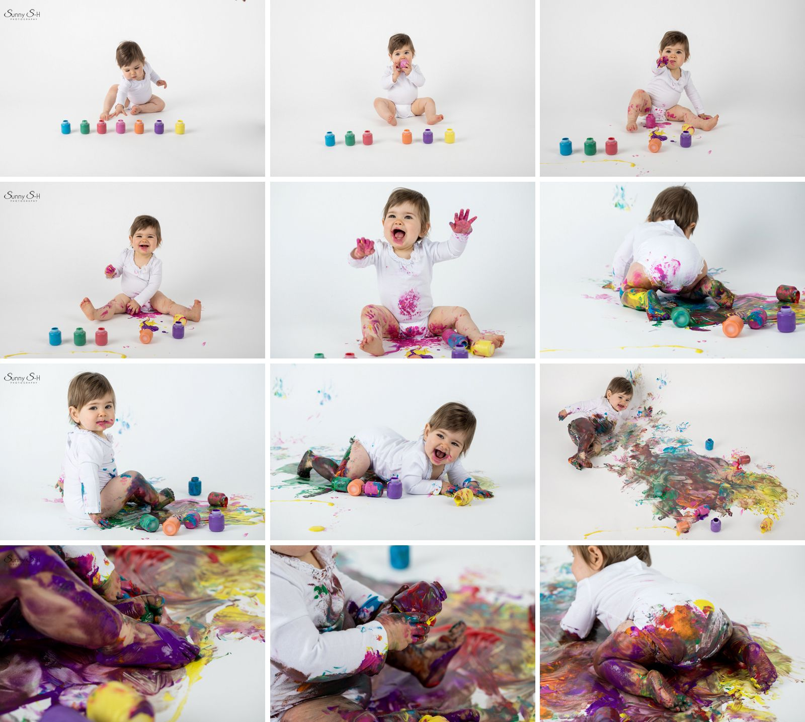 Paint Smash A Great Alternative To A First Birthday Cake