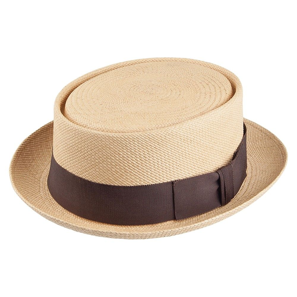 1dad255cb18 Christys Hats Reggie Panama Pork Pie Hat - Natural