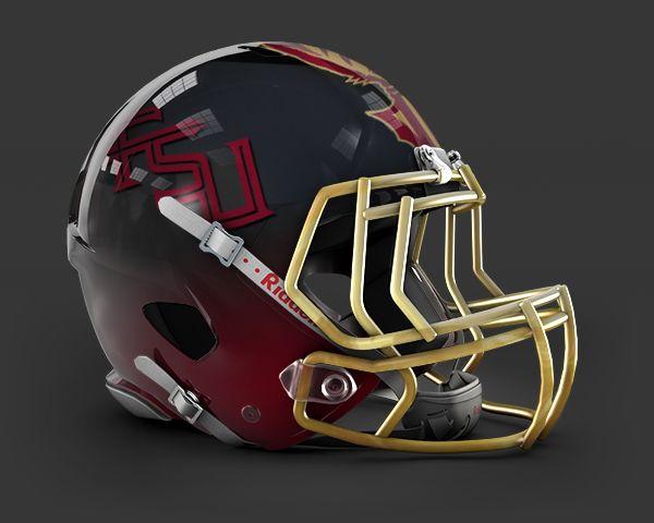 Concept Helmet Fsu Cool Football Helmets Football Helmets College Football Helmets