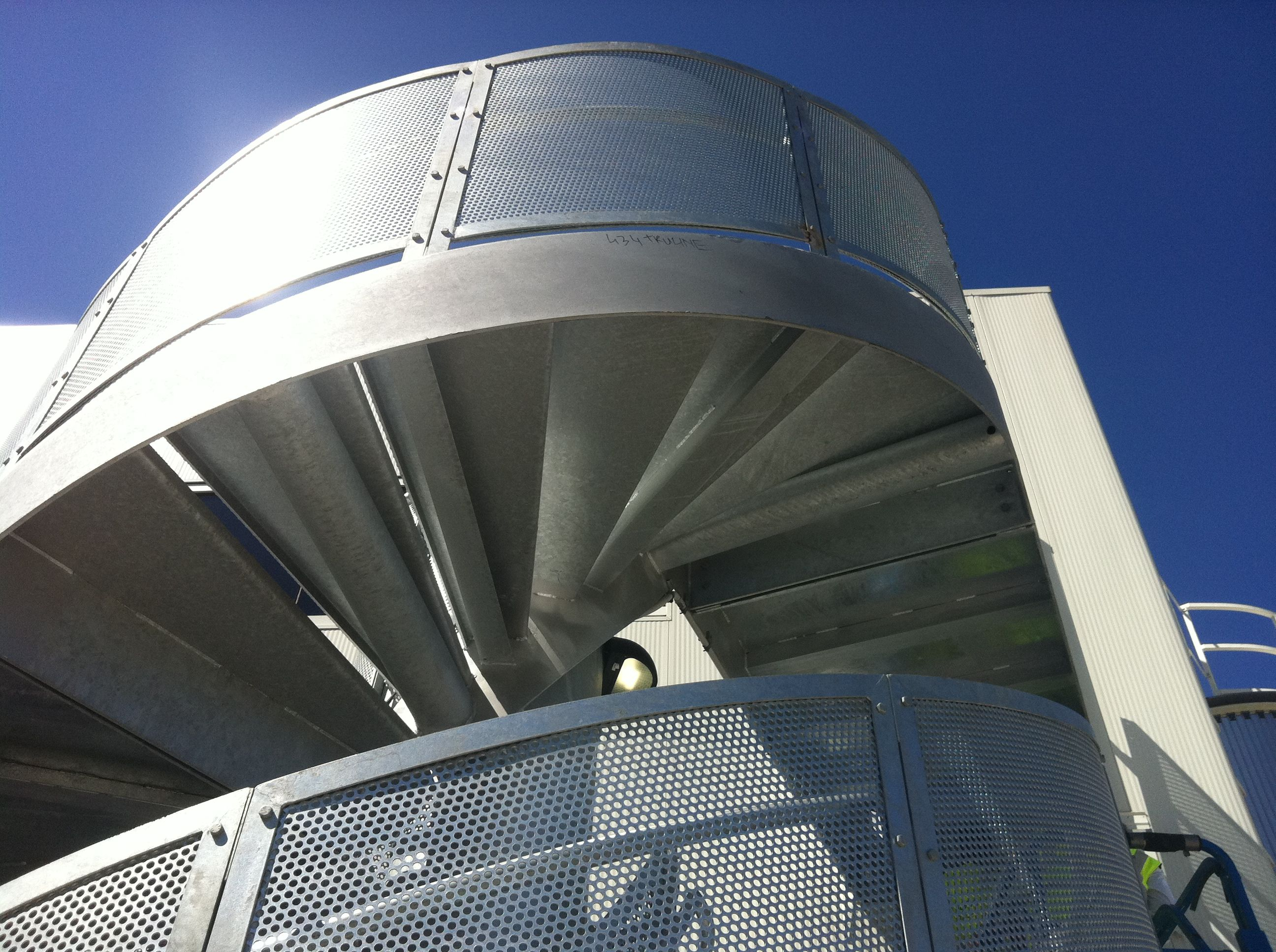 Best Melbourneairport Stairs Using Hot Dip Galvanized Steel 640 x 480