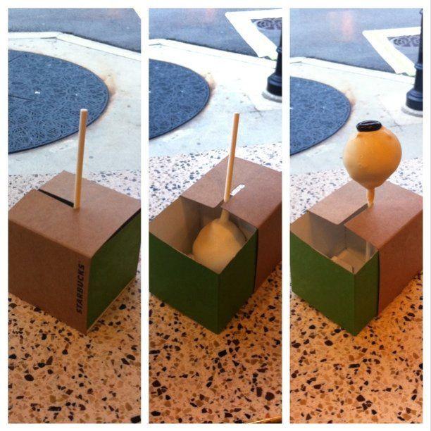 #Starbucks Cake Pop packaging #starbuckscake Starbucks cake pops #starbuckscake