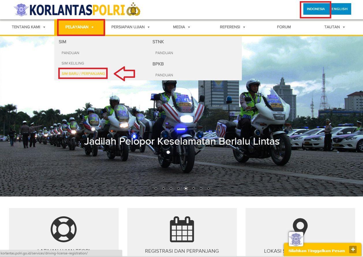 Cara Membuat dan Memperpanjang SIM Secara Online