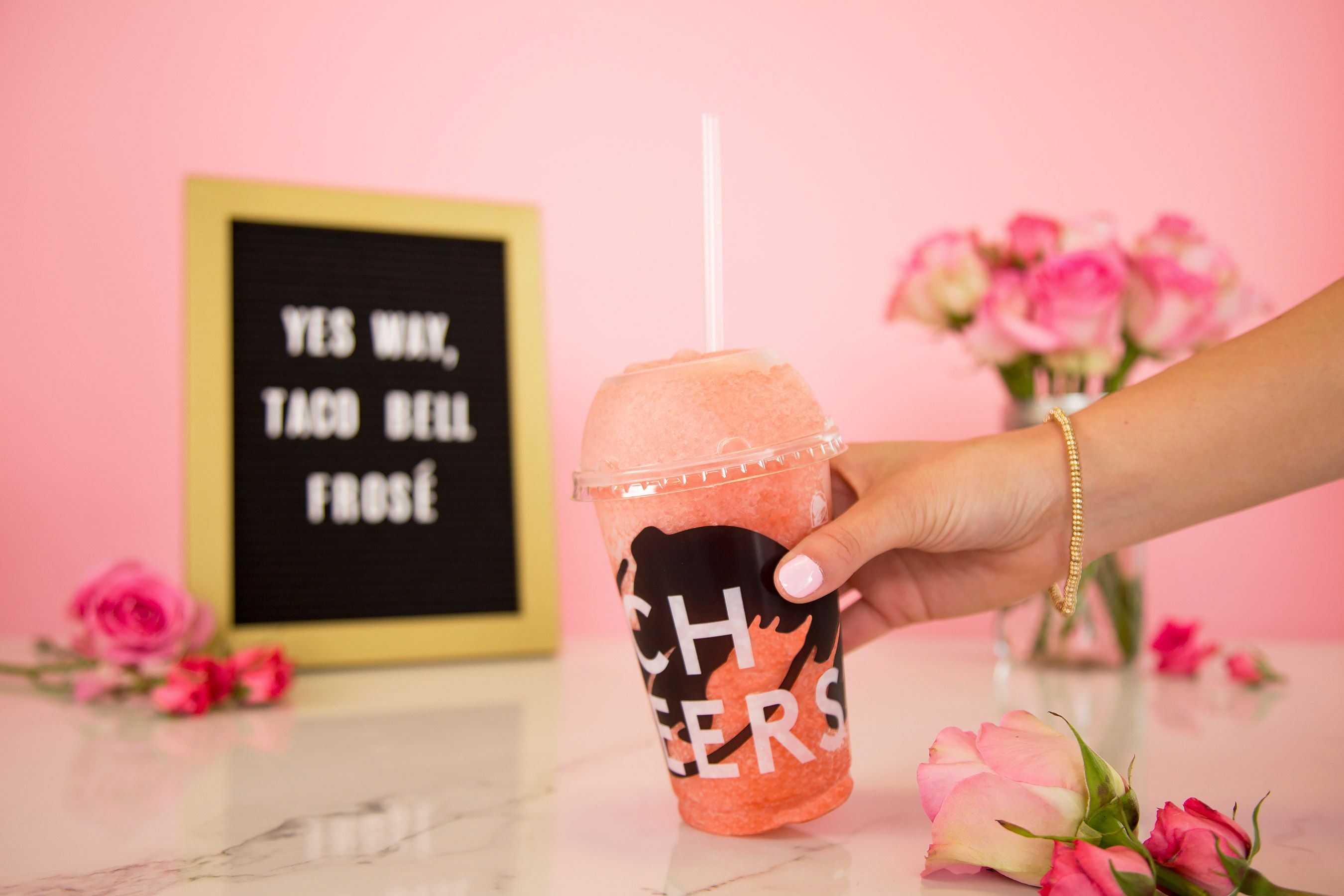 Taco Bell Is Adding Frosé to Their Menu This Summer Fast