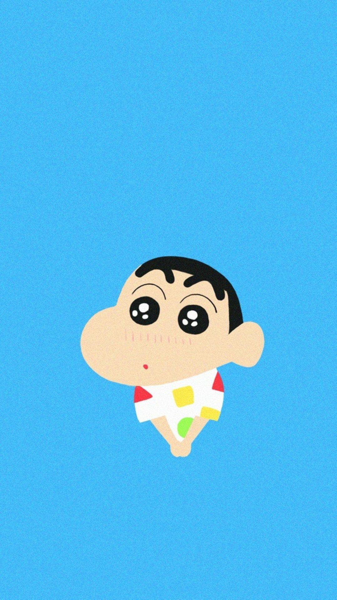 Crayon Shin Chan Shy Cute Lovely #iPhone #6 #plus