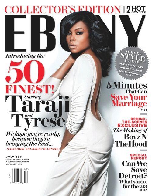cover Ebony taraji henson magazine