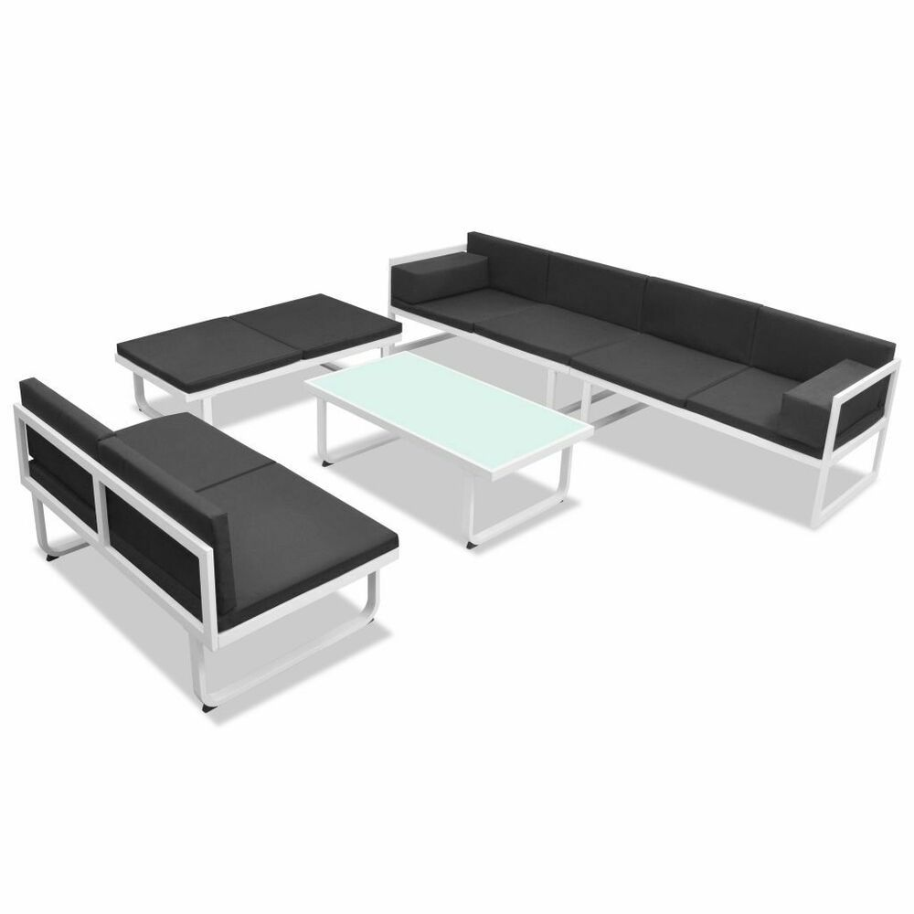 Patio Furniture Clearance Sets Garden Corner Sofa Metal Outdoor Sectional 5 Pc Ebay In 2020 Clearance Patio Furniture Outdoor Sofa Sets Patio Furniture