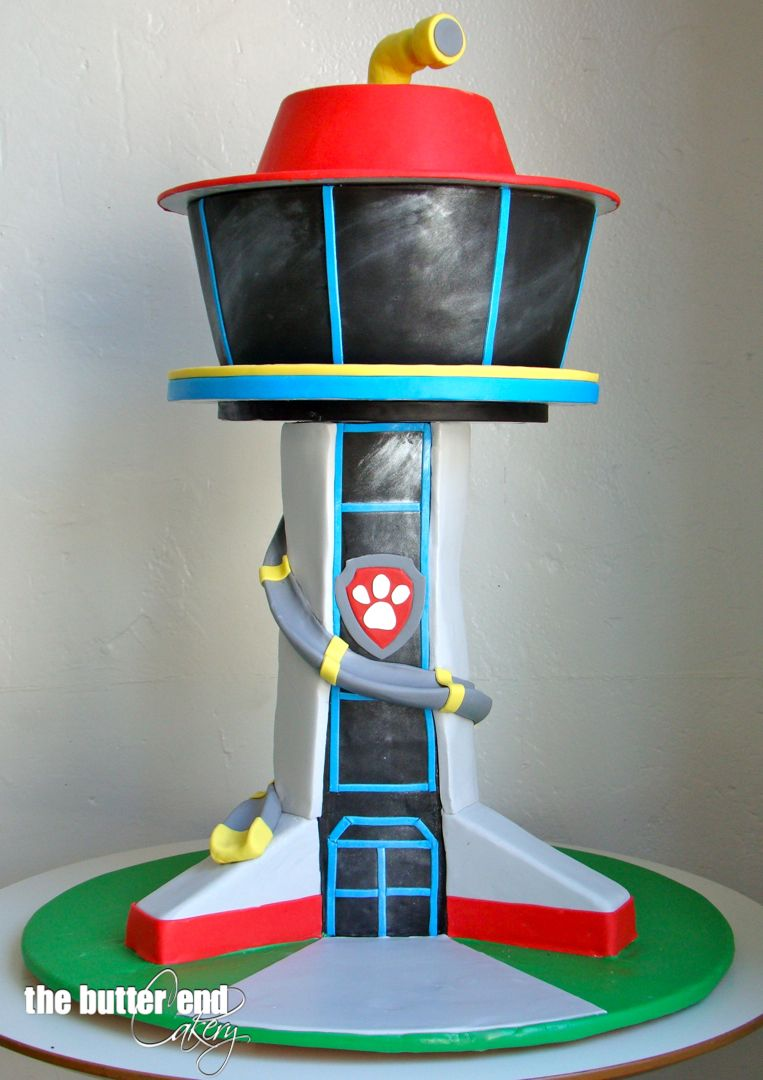 Paw Patrol 3 D Sculpted Cake By The Butter End Cakery