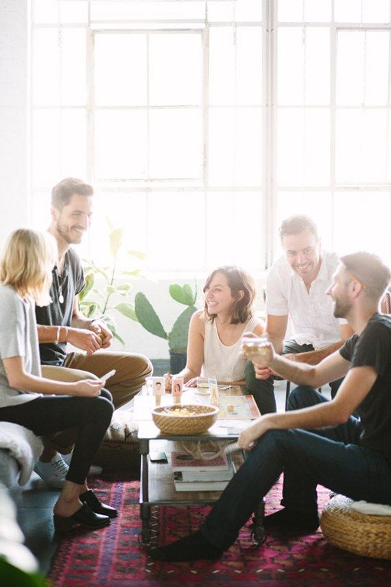 how to host a grown up game night |  almost makes perfect