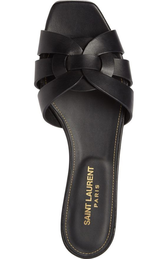 YSL Tribute Slide | Womens sandals, Ysl