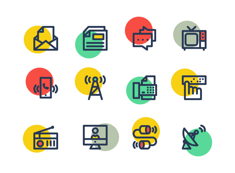 Communication Icons Communication Icon Free Graphic Design Radio Icon