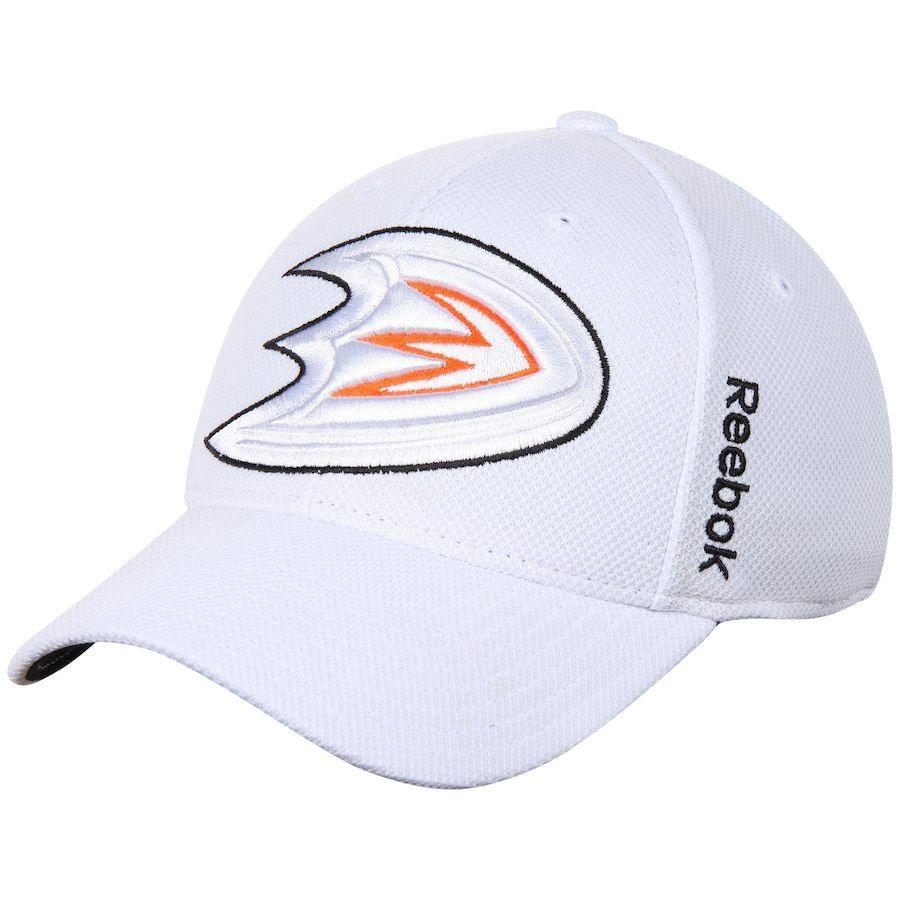 sports shoes 2b562 e0586 Men s Anaheim Ducks Reebok White Center Ice Second Season Flex Hat, Sale    15.99 - You Save   10.00