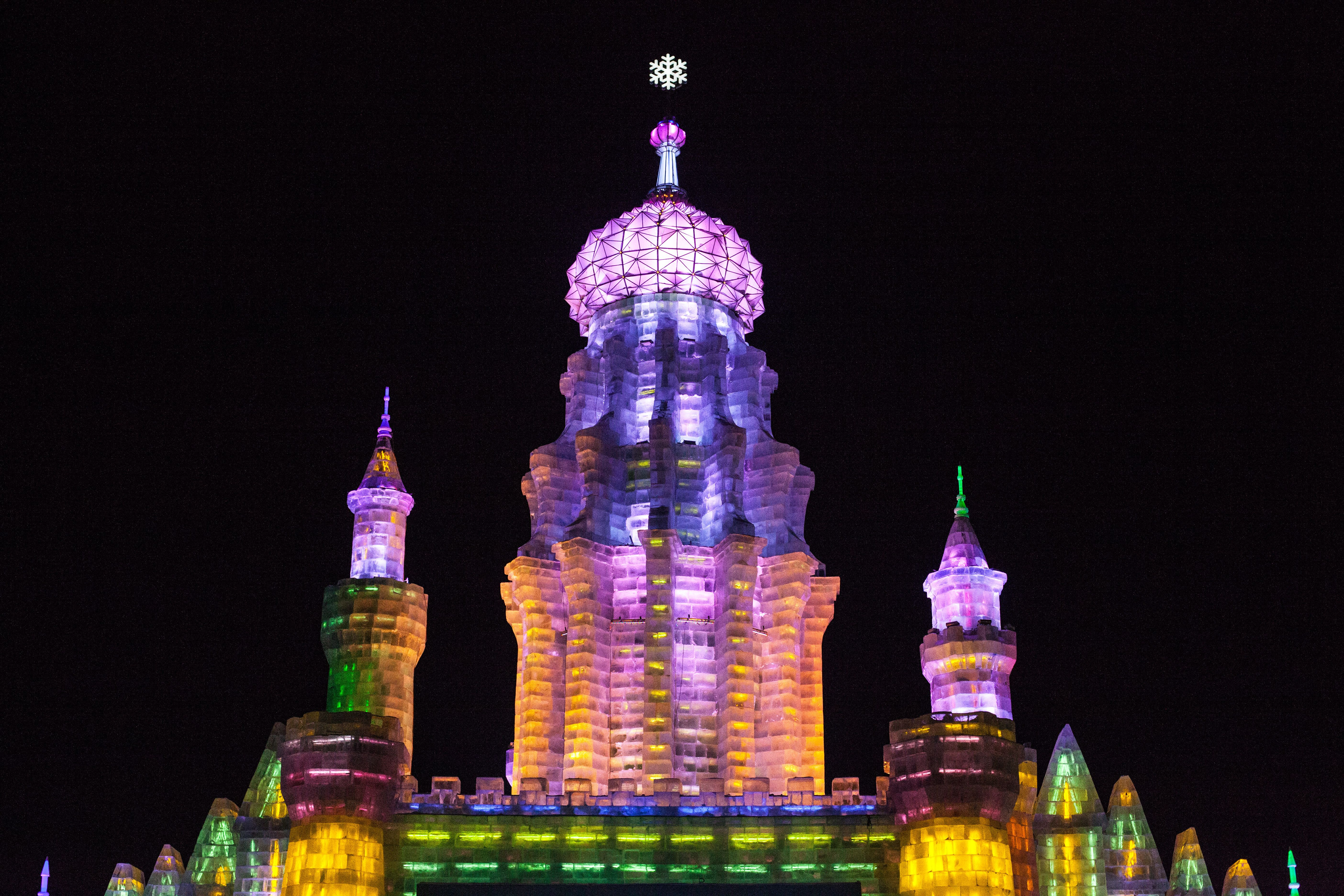 Tower At Harbin Ice And Snow Festival 2012   Harbin International Ice And  Snow Sculpture Festival   Wikipedia, The Free Encyclopedia