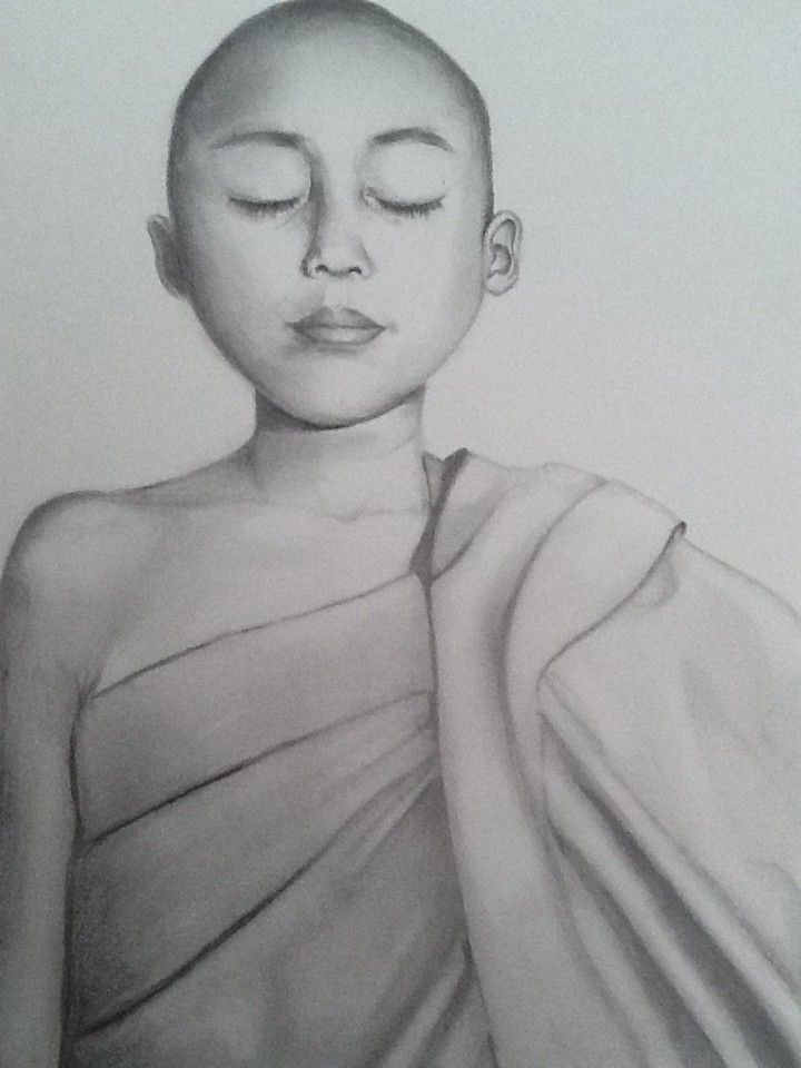 My Pencil drawing of a young boy (from a cover of a book ...