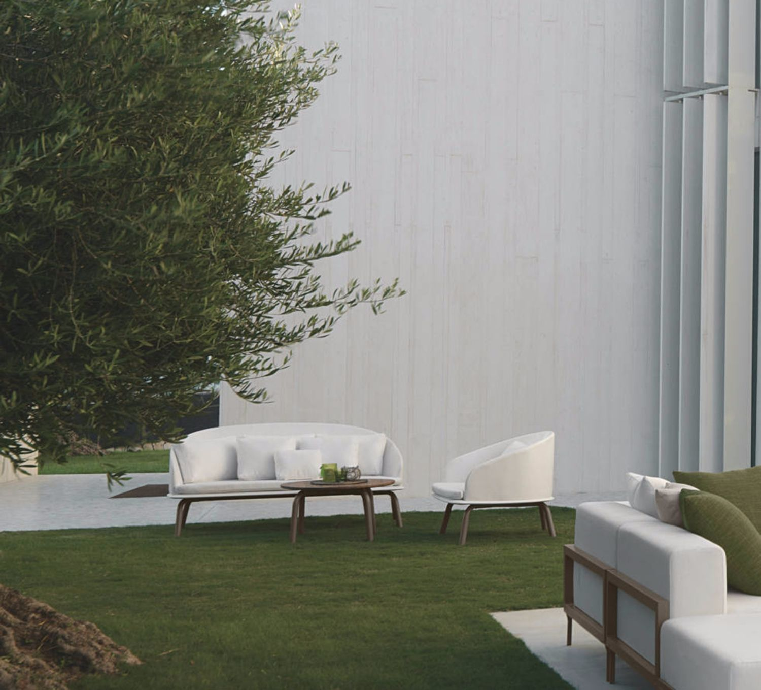 Cleo Alu Talenti Sofa 2 Design Marco Acerbis Among Talenti S Outdoor Collection Cleo Alu There S The Fixed Sofa Cleo Alu The Design Of This Furniture It