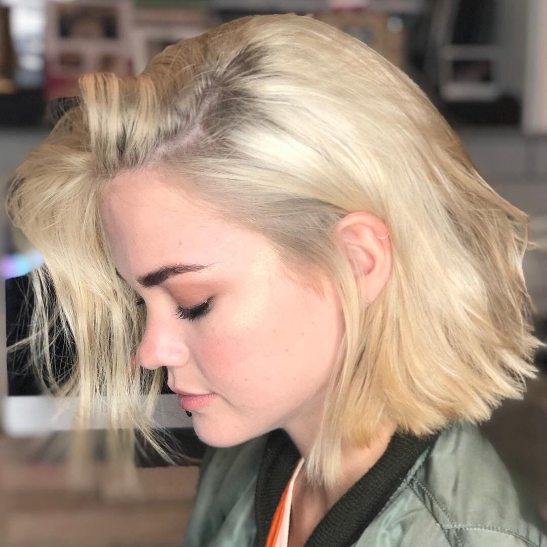 Maia Mitchell Maia Mitchell Hair Hair Inspiration Color Short Blonde Hair