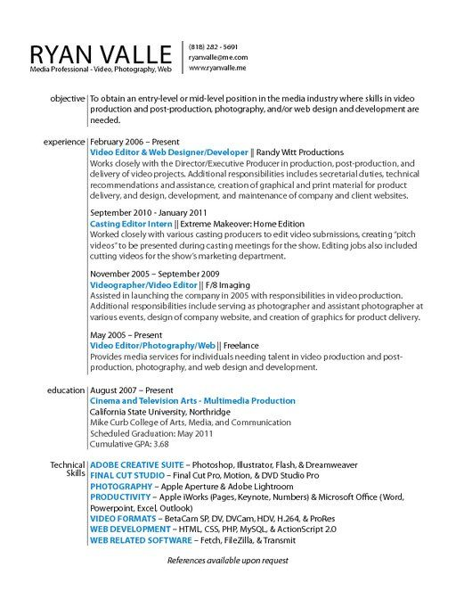 resume with awards - Google Search Graphic Design Pinterest - resumes with color