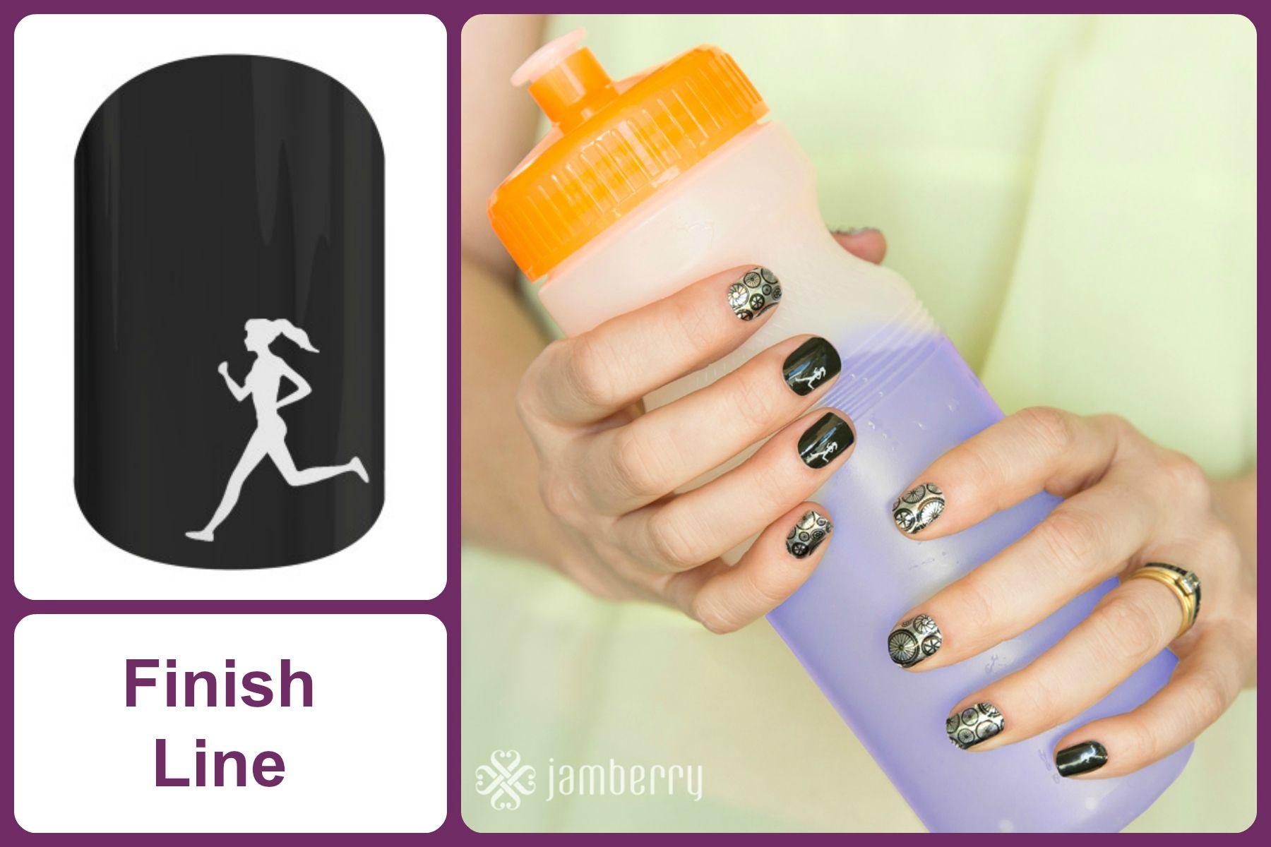 Finish Line Jamberry Nail Wrap Finishlinejn Nail Wraps Jamberry Nails Jamberry Nail Wraps