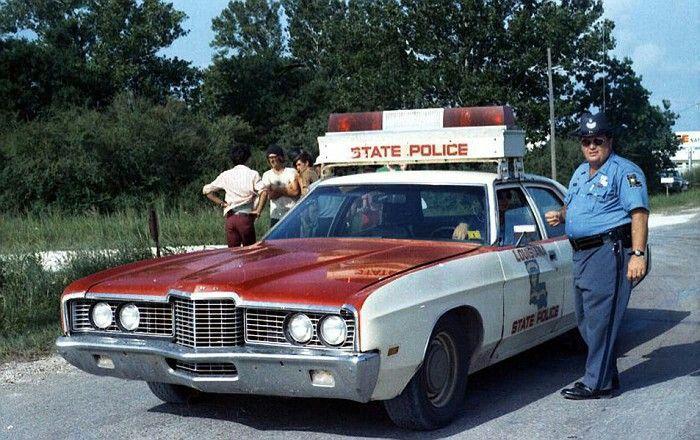 1972 Louisiana State Police Police Cars Police Old Police Cars