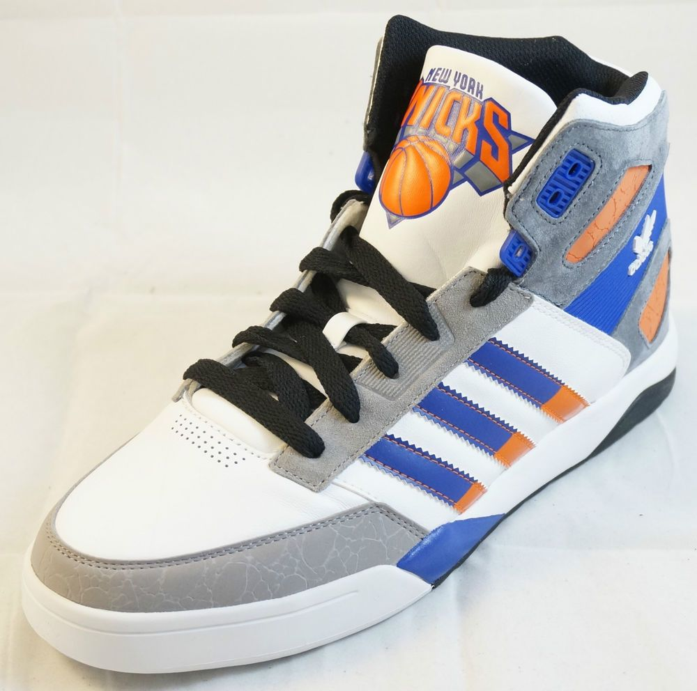 Men s Adidas New York Knicks StrongsideBasketball Shoes (10)  adidas   BasketballShoes 4e0bfde8b63d