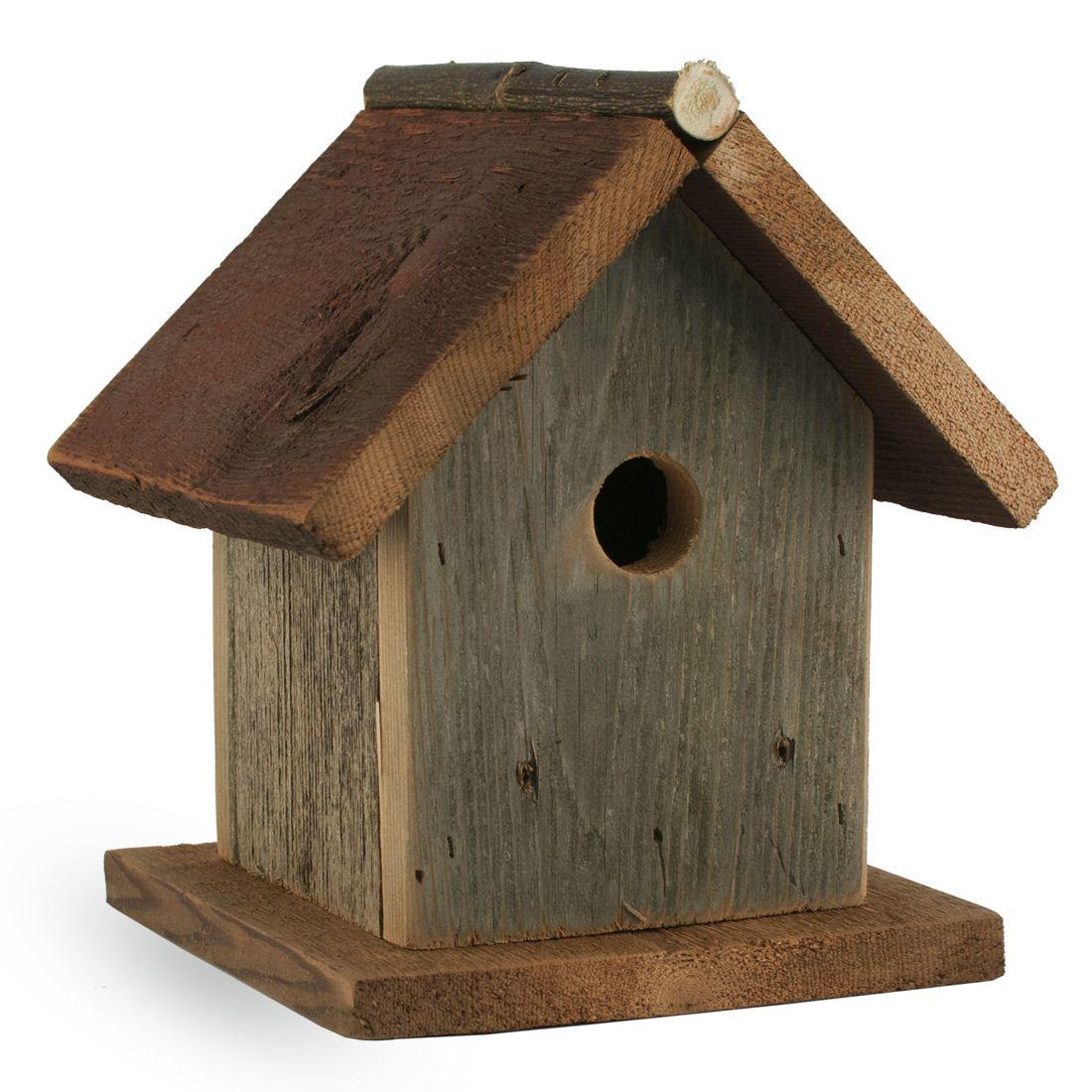 Barn wood bird house foothills wood factory garden - Old barn wood bird houses ...