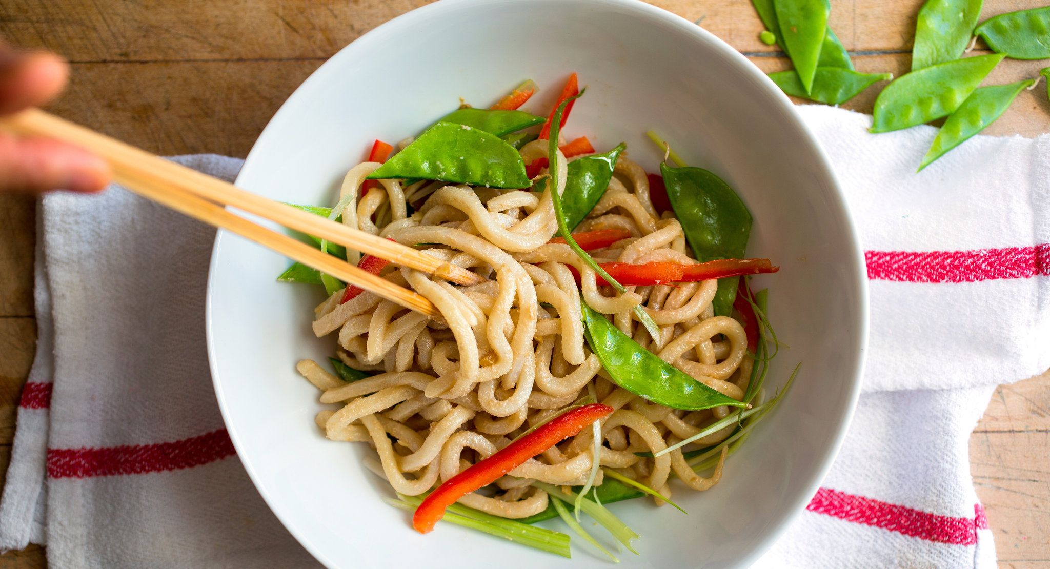Cold Sesame Noodles With Crunchy Vegetables by Mark