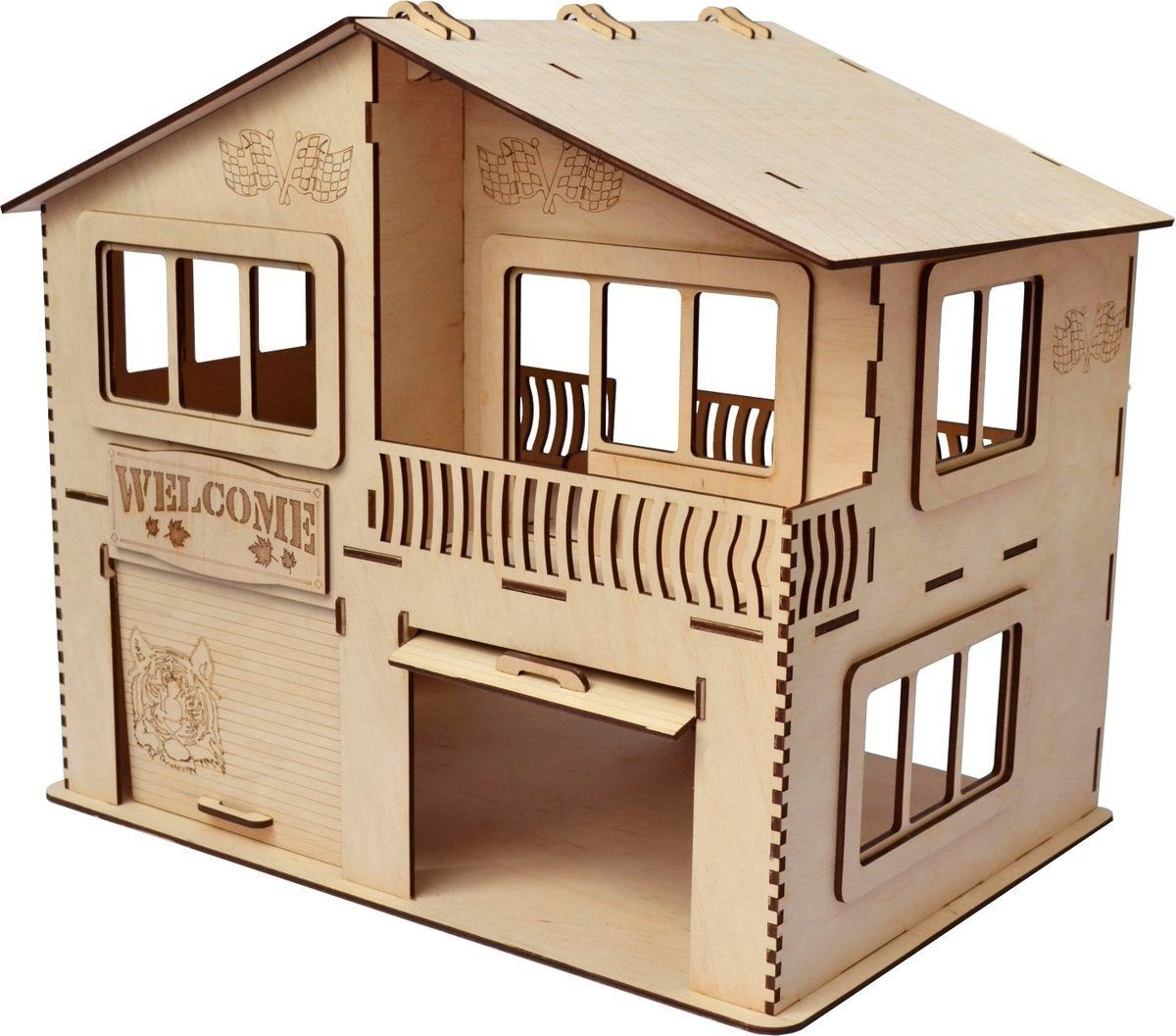 CNC LASER CUT DXF FILES 6 houses files