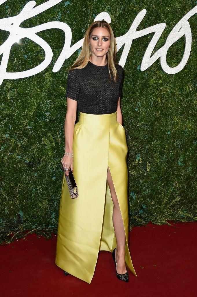 British Fashion Awards - Red Carpet Arrivals: Lemon  Olivia