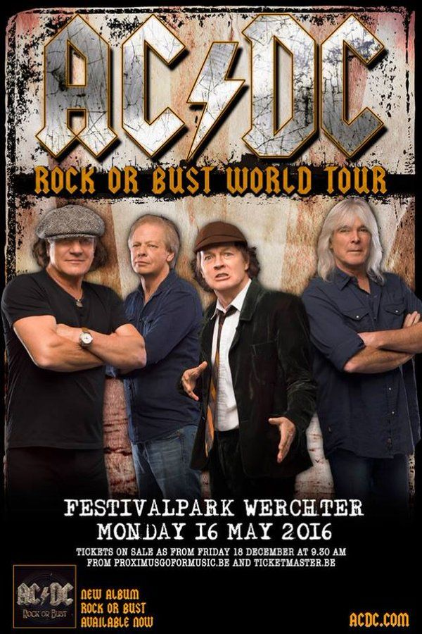 Blabbermouth Net On In 2020 Ac Dc Rock Concert Posters Brian
