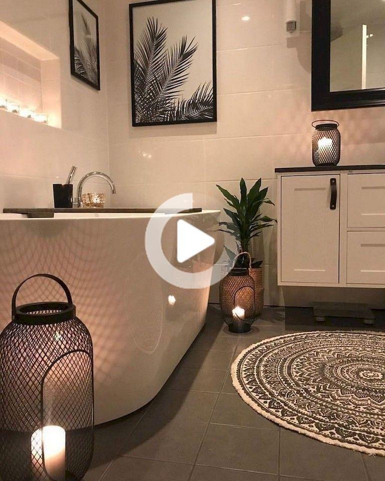 Over 80 Small Luxury Bathroom Decoration Ideas Over 80 Small Luxury Bathroom In 2020 Small Bathroom Decor Small Luxury Bathrooms Bathroom Decor